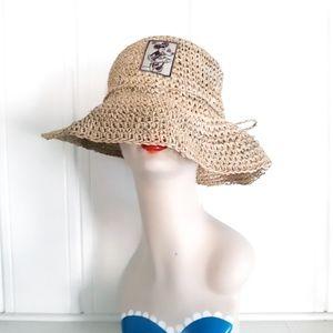 Walt Disney World Minnie Mouse Straw Sun Hat